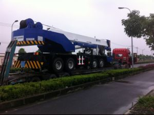 Used Tadano 55t Truck Crane Gt550e Sold to Ethiopia pictures & photos