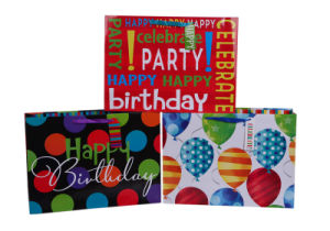 2015 Latest Birthday Paper Party Bags From Jingli pictures & photos
