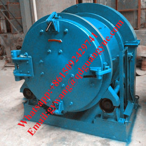 Indonesia Hot Sale Rolling Drum Type Shot Blasting Machine pictures & photos