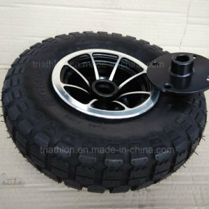 4.00-6 3.50-5 4pr Tt Turf pneumatic Wheel with Aluminum Rim pictures & photos
