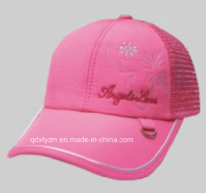 Lady Adult Baseball Cap and Hat Mesh Cap and Hat