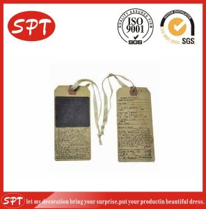 Hang Tag and Swing Tag for Garment Tag