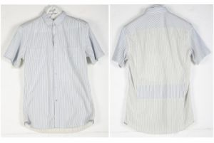 Cotton Polyester Formal Sripe Shirts for Men (S14)