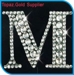 Crystal Stone Sticker Rhinestone Alphabet Stickers Name Stickers pictures & photos