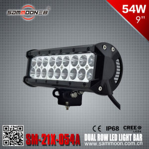 9 Inch 54W Dual Row LED Light Bar (SM-21X-054A)