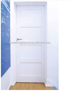 New Design White Shaker Wooden Interior Door pictures & photos