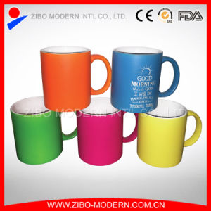 Wholesale Neon Coffee Ceramic Mug pictures & photos