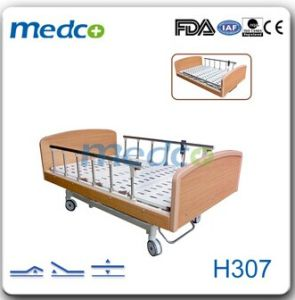 Hospital Electric Nursing Home Care Bed H307 pictures & photos