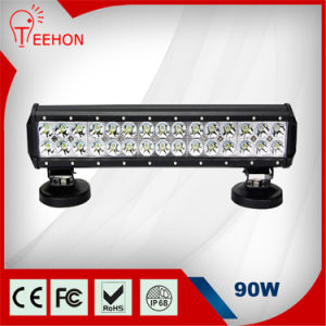 2015 Best Price 90W LED Light Bar Flood/Spot Beam IP68 for Truck ATV SUV pictures & photos
