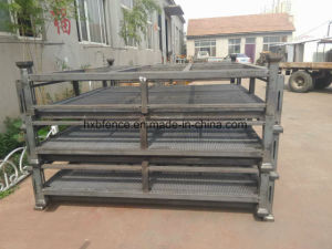 Hot Galvanized Heavy Duty Stackable Post Pallet pictures & photos
