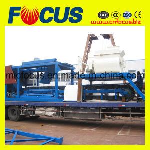 Automatic Mobile Concrete Batching Plant 35m3/H, Moving Concrete Mixing Plant pictures & photos