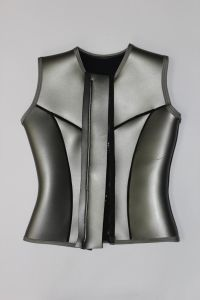 Silver Color Neoprene Surfing Vest Wetsuit pictures & photos