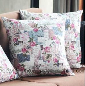 Flower Design Cushion Waist Pillow Cushion pictures & photos