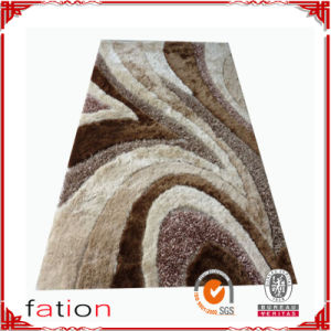 100% Polyester Area Rug Muti-Structure Anti-Slip Home Shaggy Floor Carpet pictures & photos
