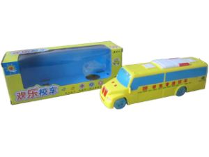 Plastic B/O School Bus with Light and Music (10214931) pictures & photos