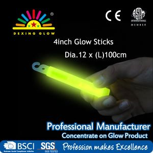 4-Inch Light Sticks with Lanyard, Glow Necklace pictures & photos