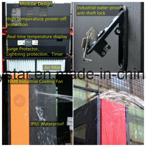 Outdoor Wireless Battery Powered LCD Advertising Screen pictures & photos