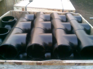 A234 Wpb Butt Weld Tee, Pipe Fitting Tee, Pipe Tee, CS Tee, Seamless Tee, Equal Tee pictures & photos