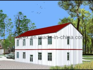 Double Storey Steel Dormitory/Prefabricated Portable House (pH-69) pictures & photos