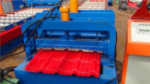 Dx High Quality 2017 Cold Glazed Tile Roof Forming Machine pictures & photos