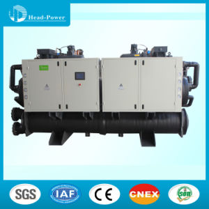 Made in China Screw Type Water Cooled Chiller with Heat Recovery pictures & photos