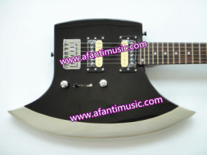 Afanti Music / Axe Shape / Zebra Pickups Electric Guitar (AEX-045) pictures & photos