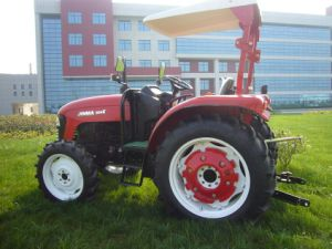 Jinma 4WD 50HP Wheel Farm Tractor with E-MARK Certification (JINMA 504E) pictures & photos