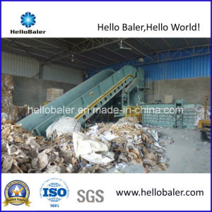 High Capacity Waste Paper Horizontal Press Machine pictures & photos