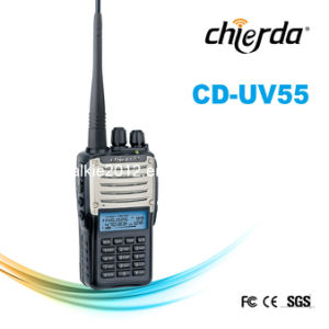 DTMF 2/5 Tone UHF/VHF Ham Walkie-Talkie (CD-UV55)