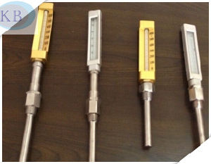 V Line Glass Industrial Thermometer pictures & photos