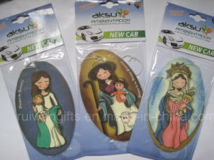 Car Paper Air Freshener with Religion Design (AF101-2) pictures & photos
