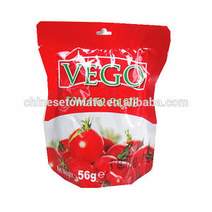Organic 56g Sachet Tomato Paste with High Quality pictures & photos