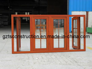 Thermal Break Aluminum Casement Window with Double Glazing pictures & photos