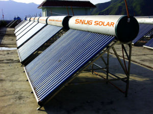 Color Steel Solar Hot Heater From 80L-600L pictures & photos