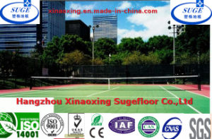 Top Grade Interlock Tennis Court Flooring Tiles pictures & photos