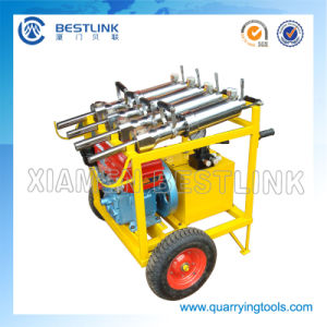 Pneumatic Engine Hydraulic Splitter Machine for Hard Rock pictures & photos