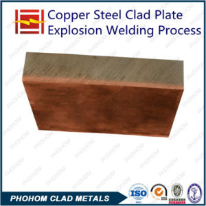 Electrical Arc Furnace Copper Steel Clad Plate in China pictures & photos