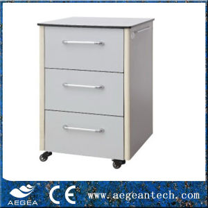 CE approved ABS Medical Bedside Cabinet (AG-BC015) pictures & photos