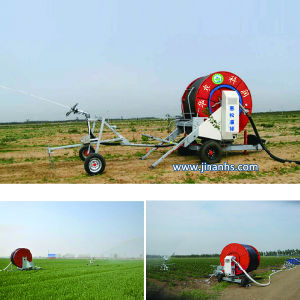 High Efficient Energy-Saving Hose Reel Irrigation System with Boom pictures & photos