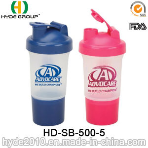 500ml BPA Free Wholesale Protein Smart Shaker Bottle (HD-SB-500-5) pictures & photos