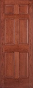 Walnut Finish Stained Panel Door for Sale pictures & photos