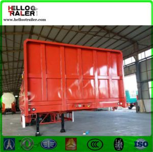 Sidewall Cargo Semi Trailer for Carrying Home Appliances pictures & photos