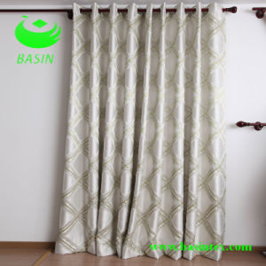 Jacquard Curtain Fabric (BS1098) pictures & photos
