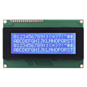 20X4 Stn Character LCD Screen (Size: 98.0 (W) *60.0 (H) mm)