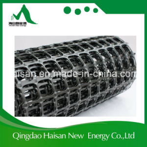Factory Supply Fiberglass/Polyester/Plastic/Basalt Geogrid pictures & photos