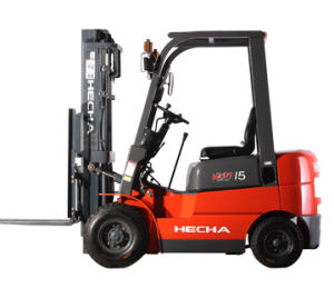 1.5 Ton Diesel Forklift Truck pictures & photos