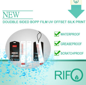 RoHS Authenticated Matt Printable Coating BOPP Synthetic Paper (RPH-180) pictures & photos
