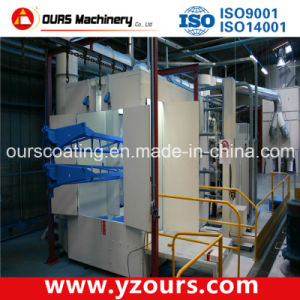 Horizontal Powder Coating Line for Aluminum Profiles pictures & photos