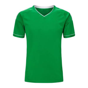 100% Polyester Custom Sublimation Soccer Jerseys in China