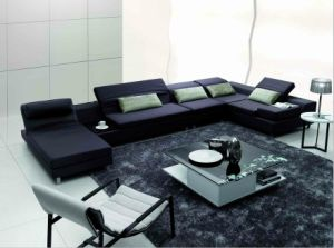 Chinese Furniture/Combination Sofa/Hotel Modern Sectional Sofa/Living Room Modern Sofa/Corner Sofa/Upholstery Fabric Modern Sofa (GLMS-012) pictures & photos